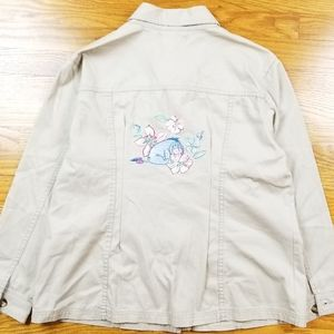Disney Store Winnie The Pooh Eeyore Button Shirt